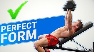 How To: Dumbbell Incline Press | 3 GOLDEN RULES