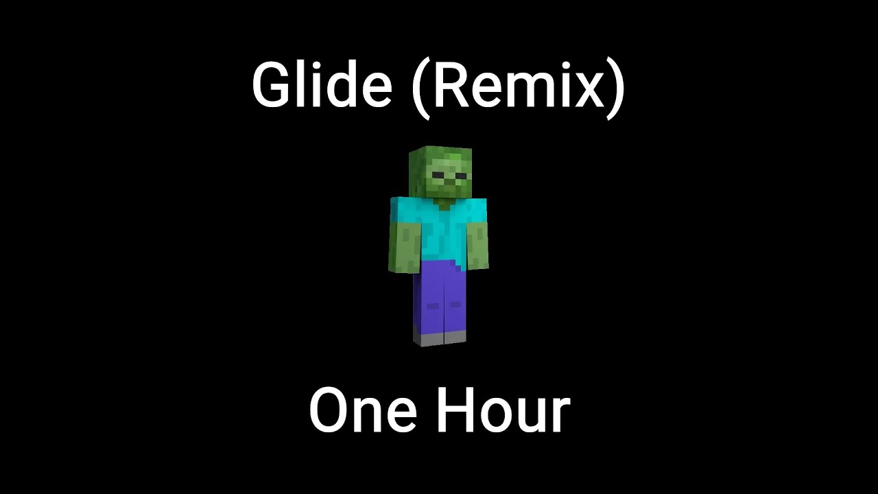 Glide Smash Bros Ultimate Remix By Hiroki Hashimoto One Hour Minecraft Music Youtube