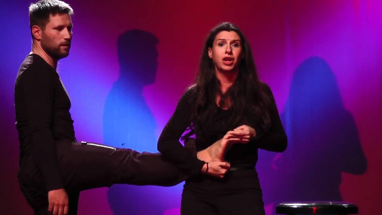 IMPRO 2012: französische Frau, deutscher Mann - YouTube