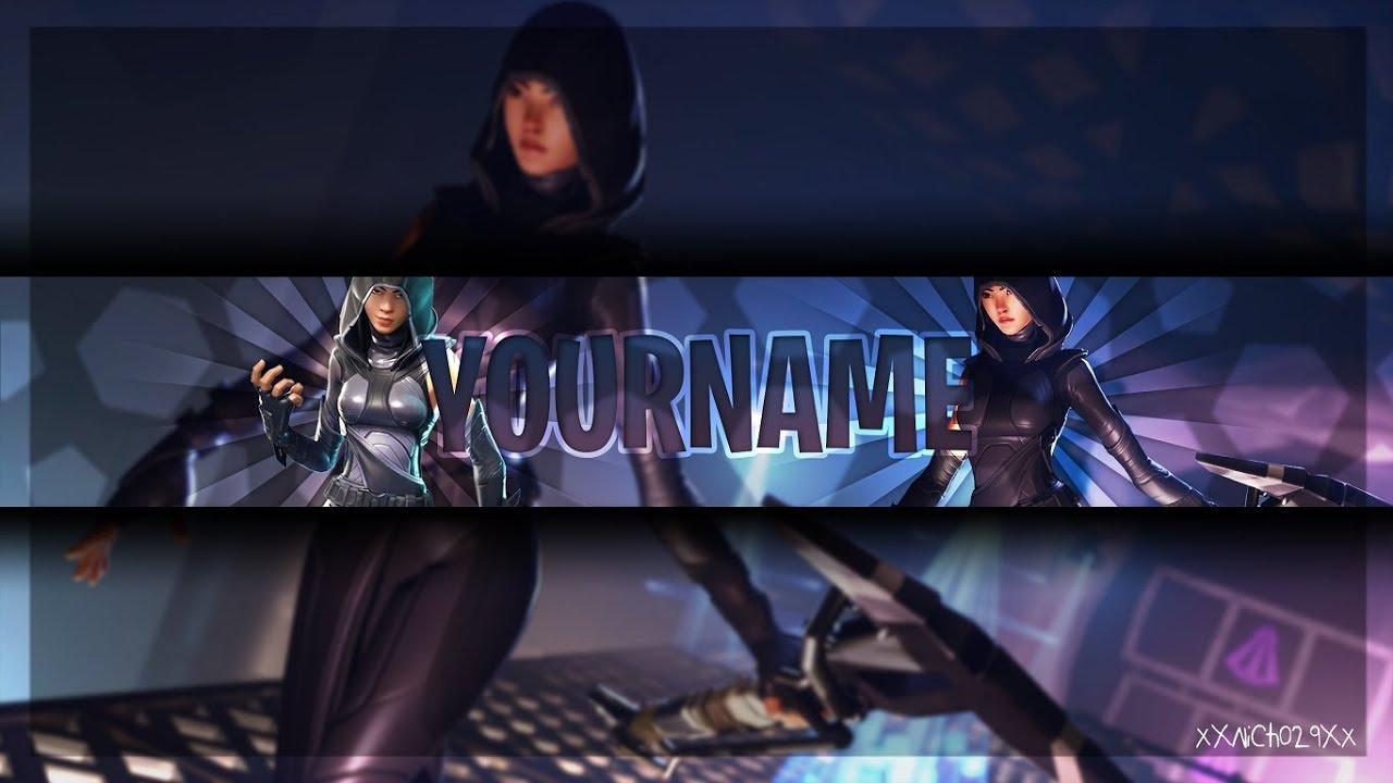 Free Fortnite Banner Template New Fate Skin Photoshop Cs6 Youtube