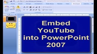 Video Embed YouTube Video into PowerPoint 2007 download MP3, 3GP, MP4, WEBM, AVI, FLV Maret 2018