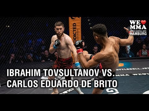 WLMMA 43 Hamburg: Carlos Eduardo de Brito vs Tovsultanov Ibrahim