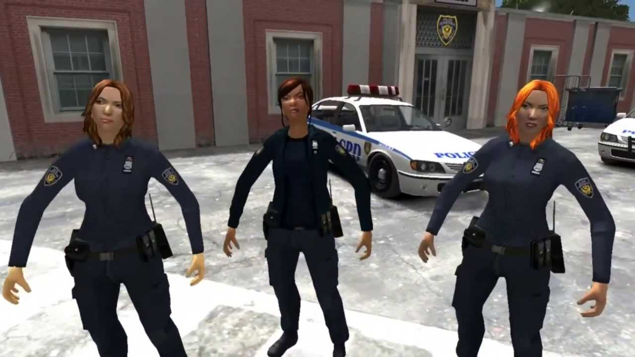 GTA IV Female LCPD Cops Recuse New York City from ...