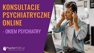 Konsultacje psychiatryczne online - psychiatra dr n.med. Barbara Stec-Szczęsna