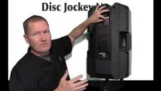 rcf art 745 a high powered speaker by john young of the disc jockey news