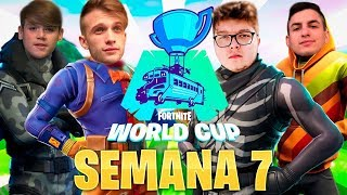 🔴 Clasificatorio FINAL SOLO Fortnite World Cup [EU,BR,NA] - Semana 7 !cofre !miembro !codigo - StarK