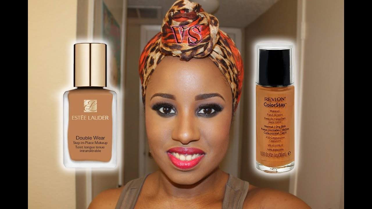 Estee lauder double wear vs revlon colorstay foundation - Best kind of foundation pict ...