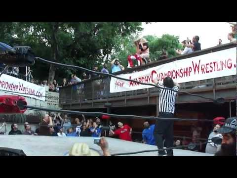 "ACW's ""Centerfold"" Matt Palmer And Rachel Summerlyn Break In The New Balcony At Mohawk"