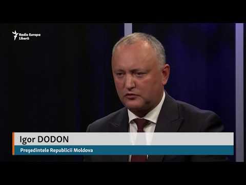 Igor Dodon: Cea mai mare problemă a R. Moldova este depopularea