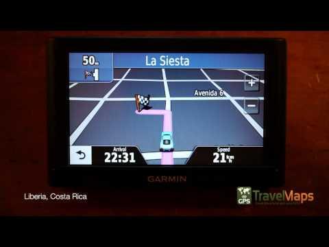 Costa Rica Garmin GPS Map - Liberia