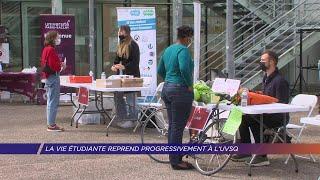 Yvelines | La vie étudiante reprend progressivement à l'UVSQ