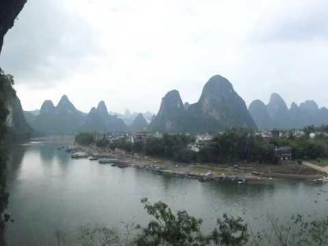 Li River from Lao Zhai Shan Peak