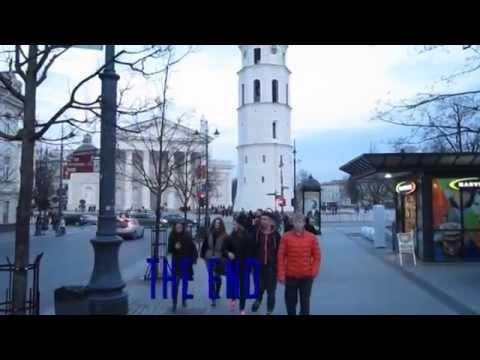 Vilnius Lithuania short tourism movie