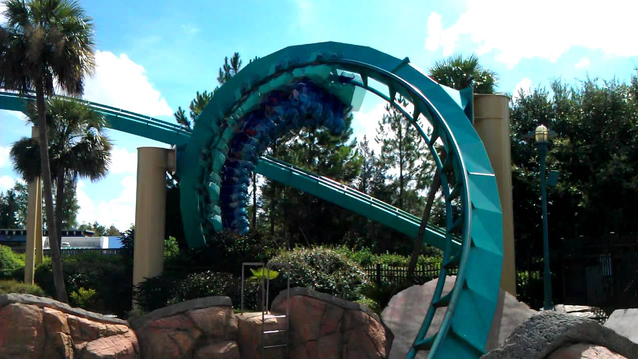 Kraken Sea World Review - MAC Theme Park Review