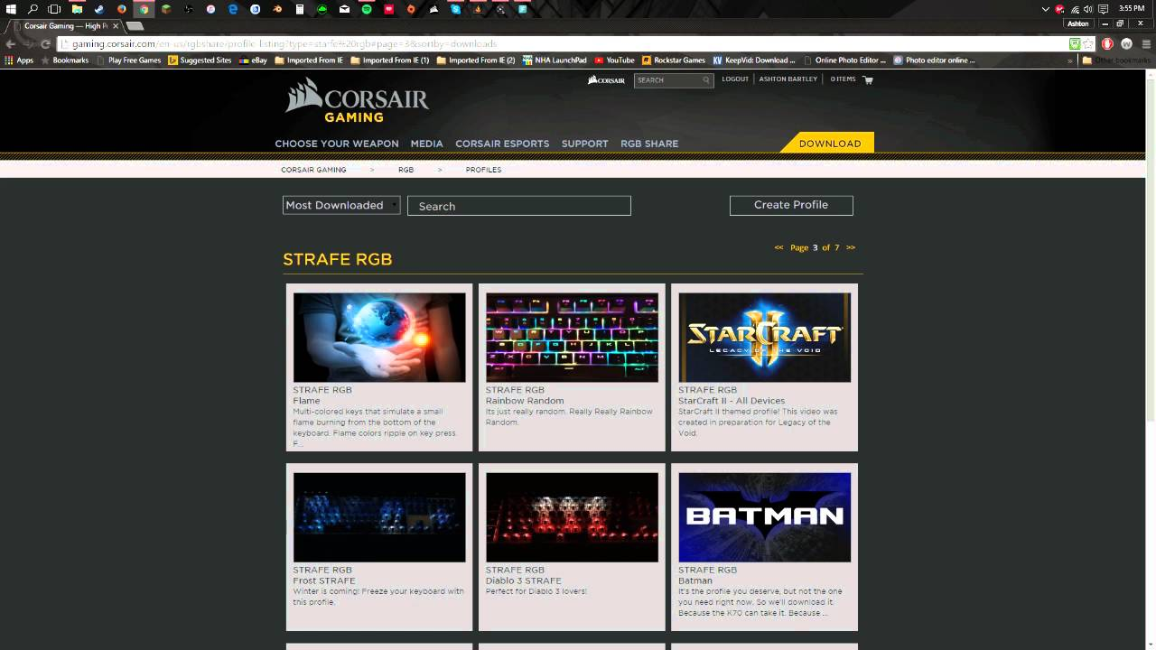 corsair utility engine download (icue) download