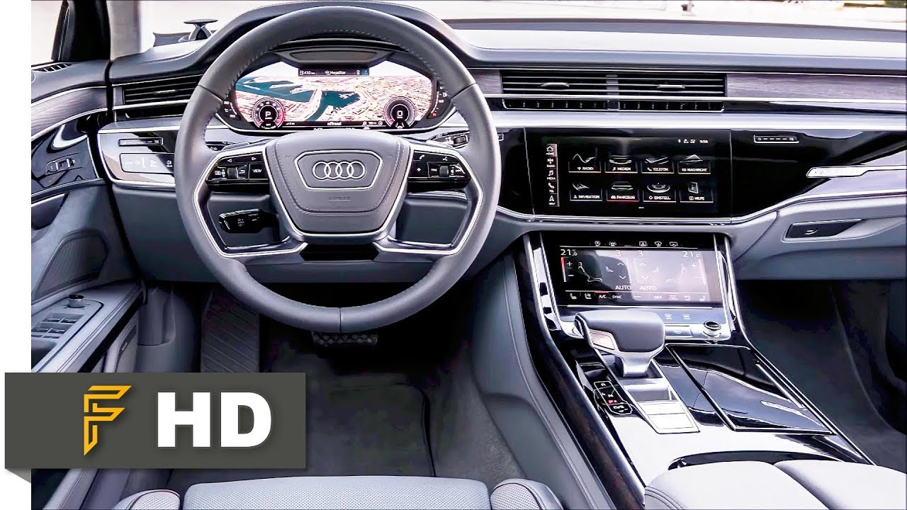 2018 audi a8 exclusive interior most luxurious car interior youtube. Black Bedroom Furniture Sets. Home Design Ideas