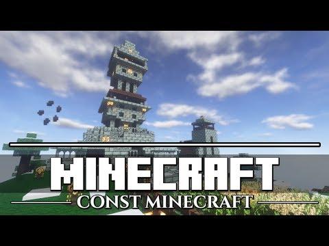 Let's Play Minecraft - CONST Vanilla - #17: Market Area Stairwell