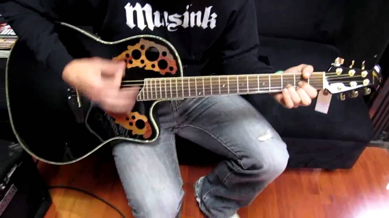 Ovation CC 44 - How does it sound ? - YouTube