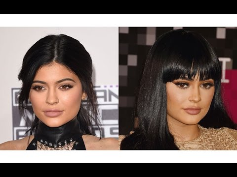 16 hot famous celebs with and without bangs; which look do you prefer?