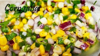 Chipotle Style Corn Salsa By Crazy4veggie