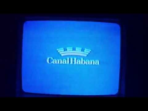 TV DX Canal Habana analog channel 40 from FL Keys, May 2016