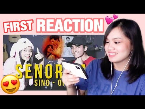Señorita SING-OFF REZA VS NADAFID - Reza Darmawangsa REACTION💕🎤
