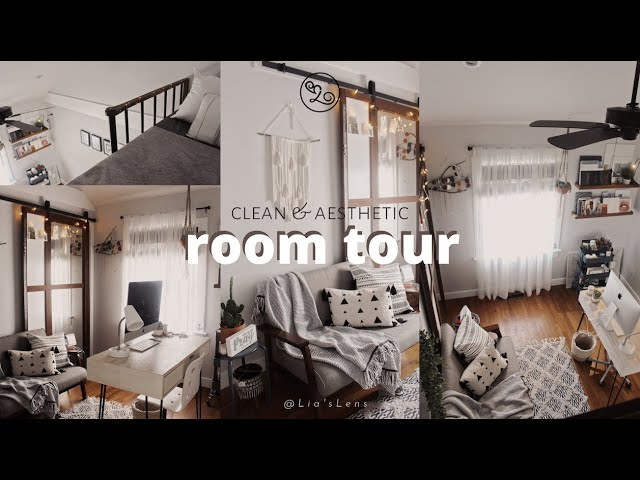 room tour 2020 | clean & aesthetic | #stayhomewithme