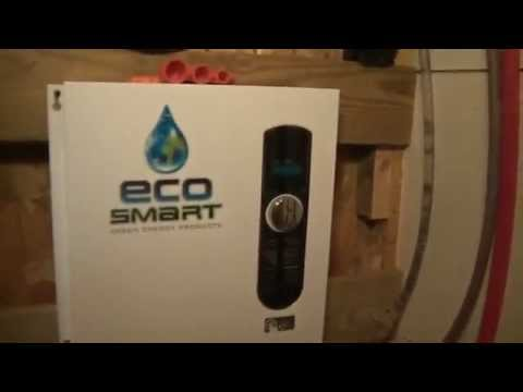 ecosmart eco 27 27 kw at 240-volt electric tankless water heater