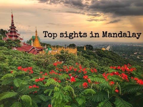 TOP SIGHTS IN MANDALAY // MYANMAR