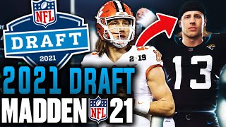 2021 NFL Draft in Madden 21