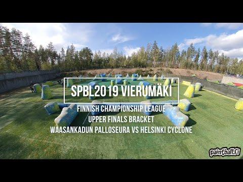 WPS vs Cyclone - SPBL2019 Vierumäki