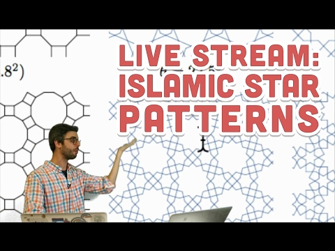 Live Stream #75: Islamic Star Patterns