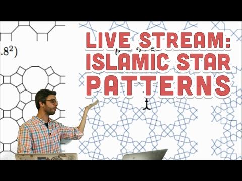 Live Stream #75: Islamic Star Patterns