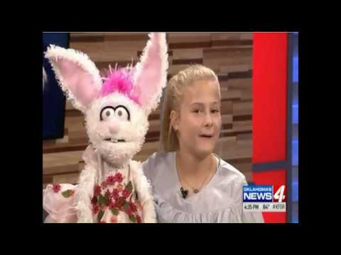 Darci Lynne's interview on KFOR-TV after returning to Oklahoma City