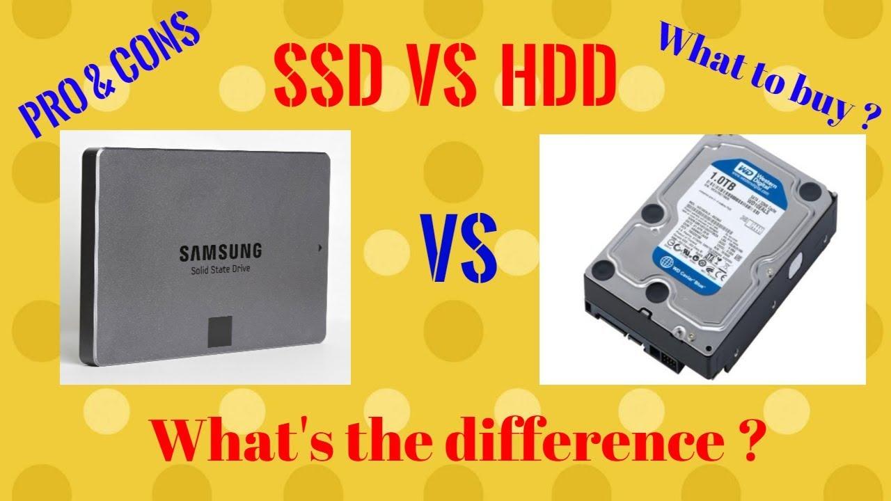 So Sánh Điểm Khác Nhau Giữa SSD và HDD Là Gì?