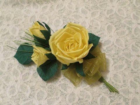 цветы из ткани своими руками мастер класс видео елена шевченко