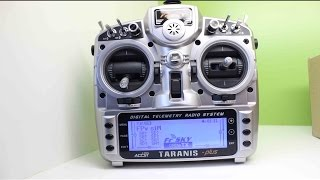 TARANIS x9d plus Unboxing/ Review/ setup with FPV Free Rider | DRONE THERAPY