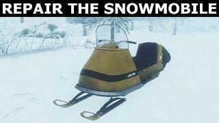KONA - All Snowmobile Parts (How To Repair The Showmobile - Mechanic Achievement)