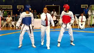 Anshu Dandotiya BHO Vs Nabeel Ahmed Khan SSCB Junior U-51 Kgs Final