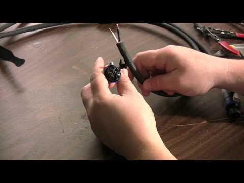 2 Pole Wiring Diagram Speakon Connector Installation M4v Youtube