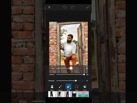 Picsart New Style Card Photo Editing 2021 - Short #Shorts, Photo, Editor One Click