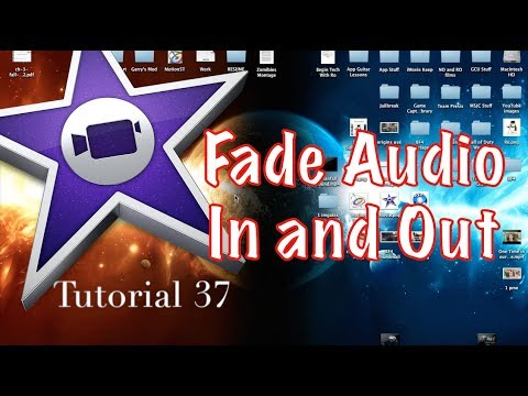 Fade In and Out Audio in iMovie 10.0.3 | Tutorial 37