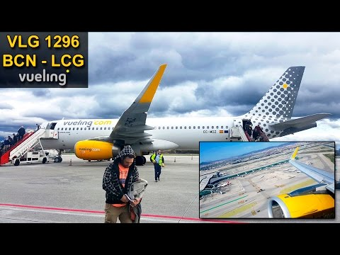 TRIP REPORT | Barcelona - A Coruña | VUELING Airbus 320 CEO | #AirForceJuan