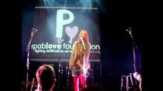 Shirley Manson (of Garbage) & Greg Kurstin perform for Pablove