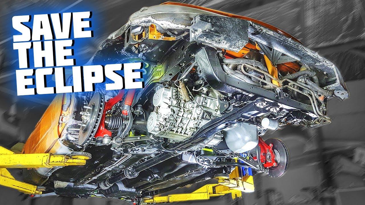 Mitsubishi Eclipse VLOG (AWD swap - final episode) #SaveTheEclipse №17
