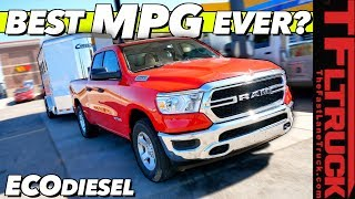 2020 Ram 1500 EcoDiesel: You Won't Believe the MPG We Got Towing & Empty