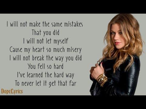 Because Of You - Kelly Clarkson (Lyrics)