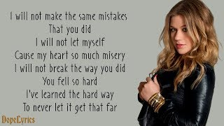 Because Of You - Kelly Clarkson (Lyrics) Mp3
