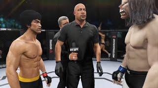 Bruce Lee vs. Big Worm (EA Sports UFC 2)