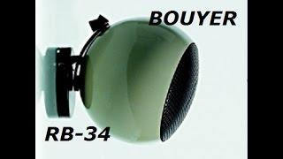 Présentation & test enceinte 100 volts Bouyer RB 34